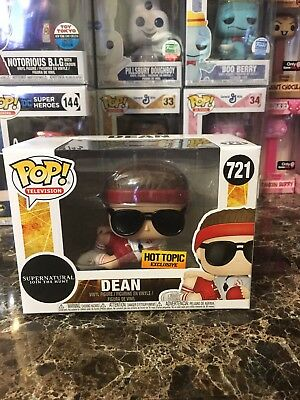 Funko Pop! Television Supernatural Join The Hunt  Dean #721 Hot Topic Exclusive