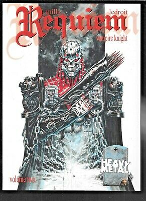 Requiem Vampire Night Collected Vol 2 Mills Ledroit 2010 Heavy Metal VF SC 144pp