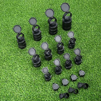 1PC Black Rubber Dustproof Cap Soft Lens Cover 25.5-69mm For Rifle Scope Hunting