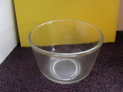 Oster Kitchen Center Small 1 Qt. Glass Mixing Bowl Fits Sunbeam Mixer As Well