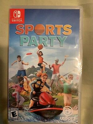 Sports Party (Nintendo Switch, 2018) BRAND NEW FACTORY SEALED