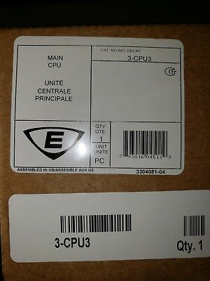 EST Edwards 3-CPU3 Central Processor Main CPU Unit Module Sealed