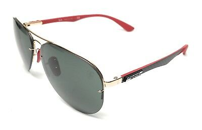 c97a572968 RAY BAN RB 3460-M F008 71 Gold   Green Lens Authentic Sunglasses 59 ...