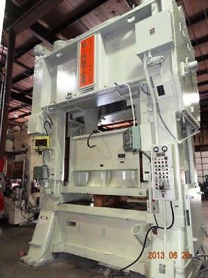 600 TON MINSTER SSDC PRESS E2 600 84 48  8″ STROKE 24″ SHUT HEIGHT Stamping pres