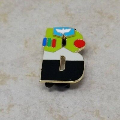 Pin Trading Disney Pins Buzz Lightyear Toy Story Letter from Alphabet Series DSF