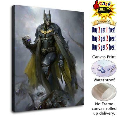 Batman poster HD Canvas Print Painting Home Decor room Wall Art Picture 1414