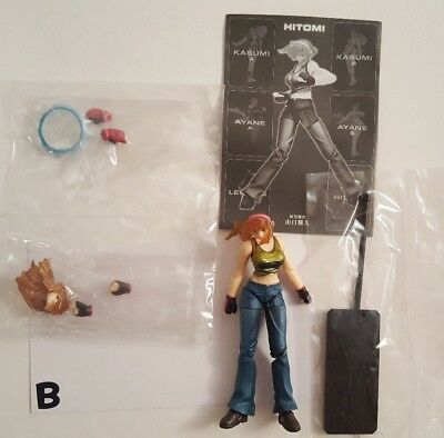 Kaiyodo KT Figure Collection DX Dead or Alive Yamaguchi shiki Action Hitomi