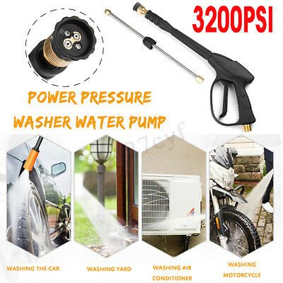 Pressure Washer Hose Attachment Nozzle Car Washing Gun Power Spray Lance Jet