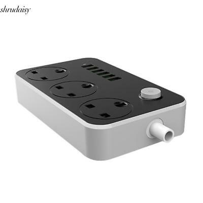 UK SK3662 Multi-function 13A Multi-bit USB Power Socket S5DY