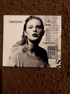 Reputation by Taylor Swift (CD, Nov-2017, Big Machine Records) W/Slip Very Good!