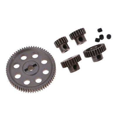 Steel Spur Diff Differential Gear with Motor Pinion Cogs for HSP 94111 94123