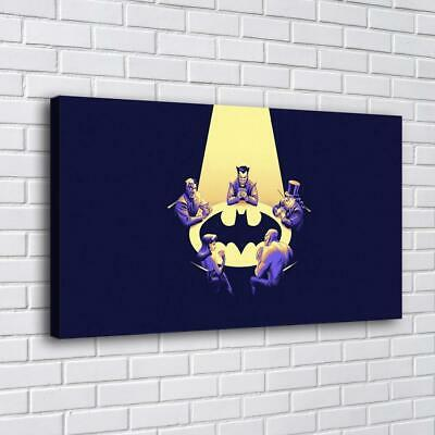 "12""x20"" batman posters HD Canvas Print Painting Home Decor room Wall Art Picture"