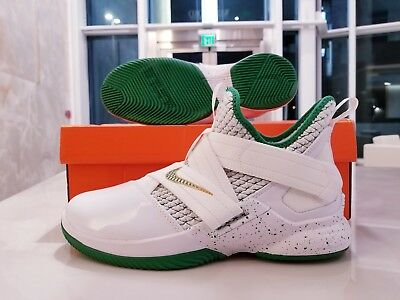 c9481f7cc4026 NIKE LEBRON SOLDIER XII 12 GS Irish St Vincent Basketball Shoes ...