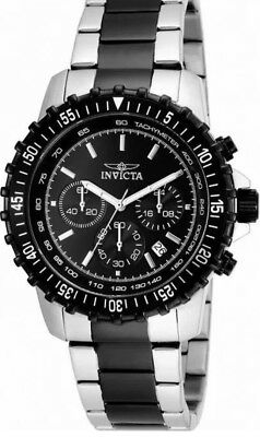 Invicta Specialty 17068 Men's Round Black Analog Chronograph Date Watch