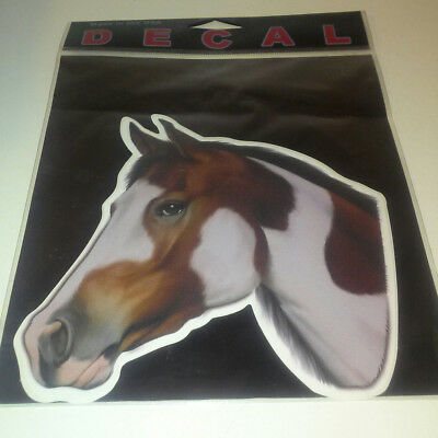 "Paint Horse Sticker Full Color 5"" Decal Die Cut CowGirl Gift"