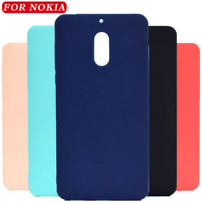 For Nokia 8.1 7.1 6.1 5.1 3.1 2.1 Plus Shockproof Slim Soft TPU Matte Case Cover
