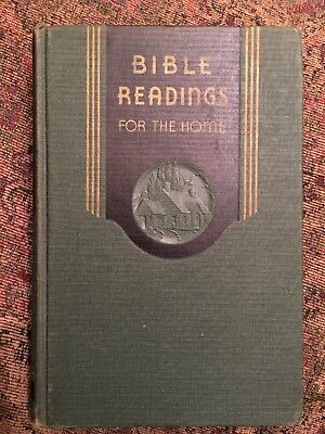 Vintage 1942 BIBLE READINGS FOR THE HOME Adventist Book Pacific Press