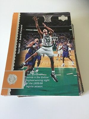 LOT 63 CARTES DE BASKET NBA UPPER DECK  1996-1997 96-97 - Regular - No Double