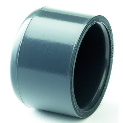 """PVC Solvent Weld End Cap. Stop End. Pressure Grade Imperial  Sizes 1/2"""" to 4"""""""
