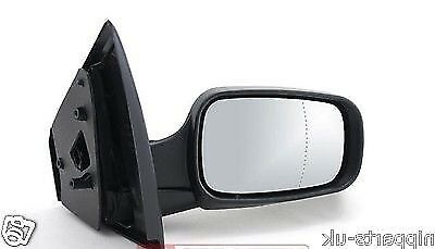 2009-2013 Renault Kangoo Door Wing Mirror Cover Black Driver Side Right New