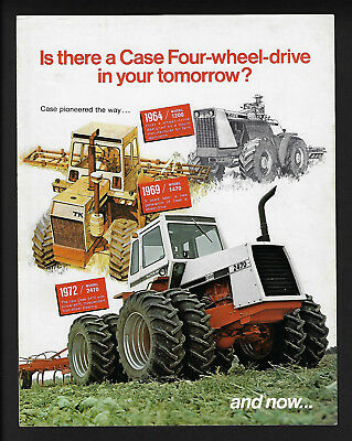 Case 4Wd 2670 & 2470 Tractors 6 Page Foldout Brochure