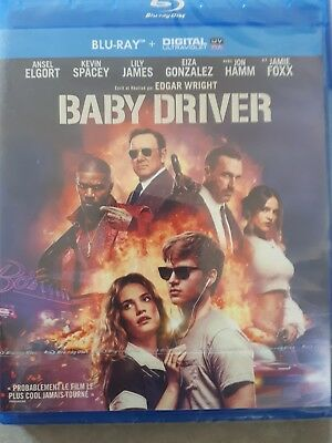 Baby Driver Blu-ray édition Française NEUF sous blister