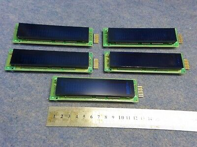 Lot of 5 Noritake itron Display Module CU24025ECPB-W1J