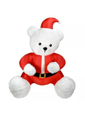 733675cbc4bfd Airblown Inflatable Animated Hugging Teddy Bear 6 Ft Tall Christmas Gemmy