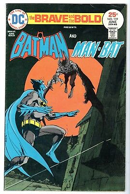 Brave and Bold #119 Featuring Batman & Man-Bat, Fine Condition