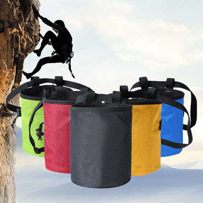 Bouldering Rock Anti-wear Chalk Bag Climbing 17.5CM*11CM Magnesium Powder Pouch