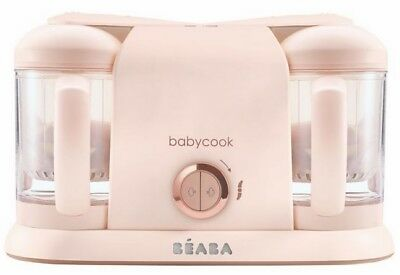 BEABA Babycook Plus Baby Food Maker, Rose Gold BRAND NEW!