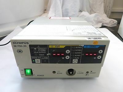 Olympus Psd-20 Electrosurgical Generator Surgical Coagulation Coag Cut Unit