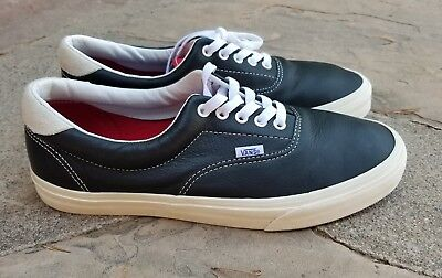 6707ccb21f VANS ERA 59 VINTAGE SPORT BLACK-RACING RED MEN S SIZE 12 WITH BOX and tags