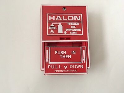 *NIB* *New* Fire-Lite HR-10 Fire Alarm Halon Release Pull Station BG-10