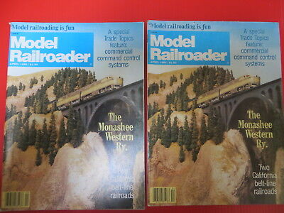 Model Railroader April1980 Brick Gas Station  Alameda Engine House  2 Belt Lines