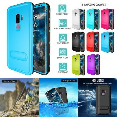 Dustproof Waterproof Case Cover For Samsung Galaxy Note S9 S8 S7 Plus Edge US