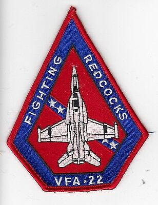 Vfa-22 Fighting Redcocks Coffin Patch