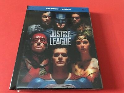 Justice League Blu-Ray 2D/3D Rare Digipack Lenticular Edition from Korea