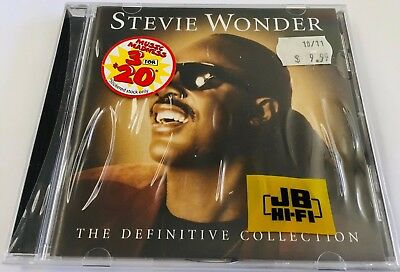 Stevie Wonder - The Definitive Collection - 2005 21 Tk.CD - Still in shrink-wrap