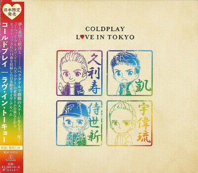 Coldplay - Live In Tokyo 2017 [New CD] Japan - Import