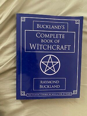 Complete Book of Witchcraft by Raymond Buckland Magick Wicca Pagan Occult Coven