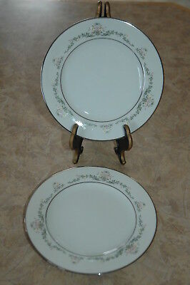 """Noritake China - EARLY SPRING - Japan - 2362 - 6 3/8"""" Bread & Butter Plates (2)"""