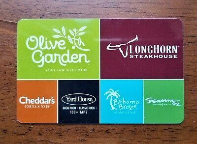 $50 Olive Garden Physical Gift Card - FREE First Class Delivery