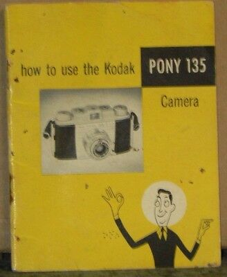 Kodak Pony 135 Camera Instructions