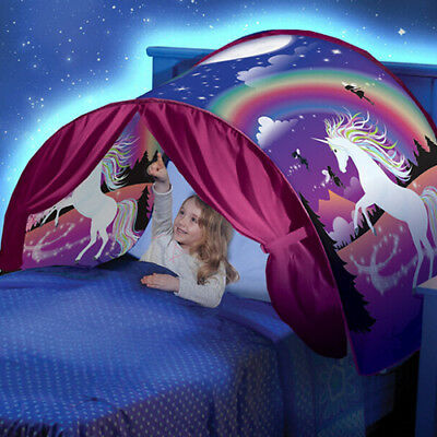 Dream Tents Unicorn Fantasy Foldable Tent Infant Kid Baby Playing Imagination