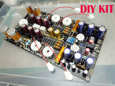 NEW Biliary tube amp drive low resistance large box and kilo-ohm headphone KIT