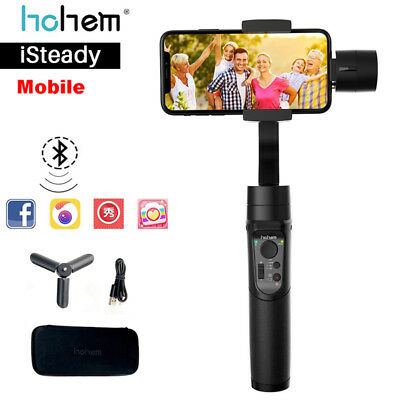 Hohem iSteady 3-Axis Smartphone Gimbal Stabilizing for iPhone XR X 8 For Samsung
