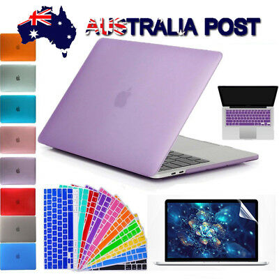 "For 2010-2018 MacBook AIR 13"" Rubberized Hard Case Keyboard Cover Screen Film"