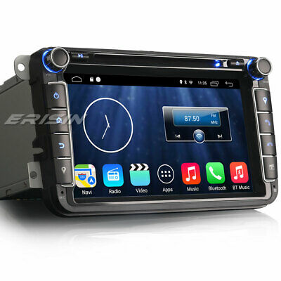 "8""Android 8.1 Car stereo SatNav DAB+For PASSAT GOLF JETTA Tiguan TOURAN EOS SEAT"