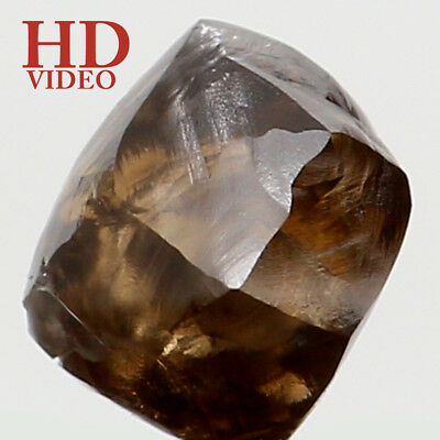 Natural Loose Diamond Rough Brown Color I1 Clarity 4.60 MM 0.70 Ct KR1358